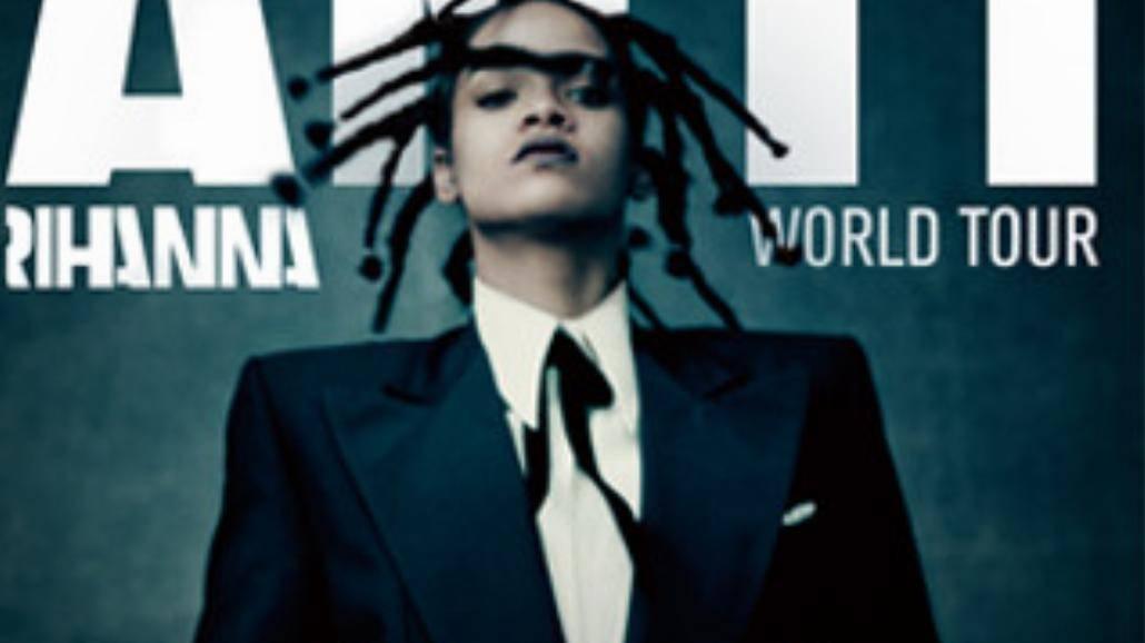 Rihanna ogłasza światową trasę koncertową ANTI!