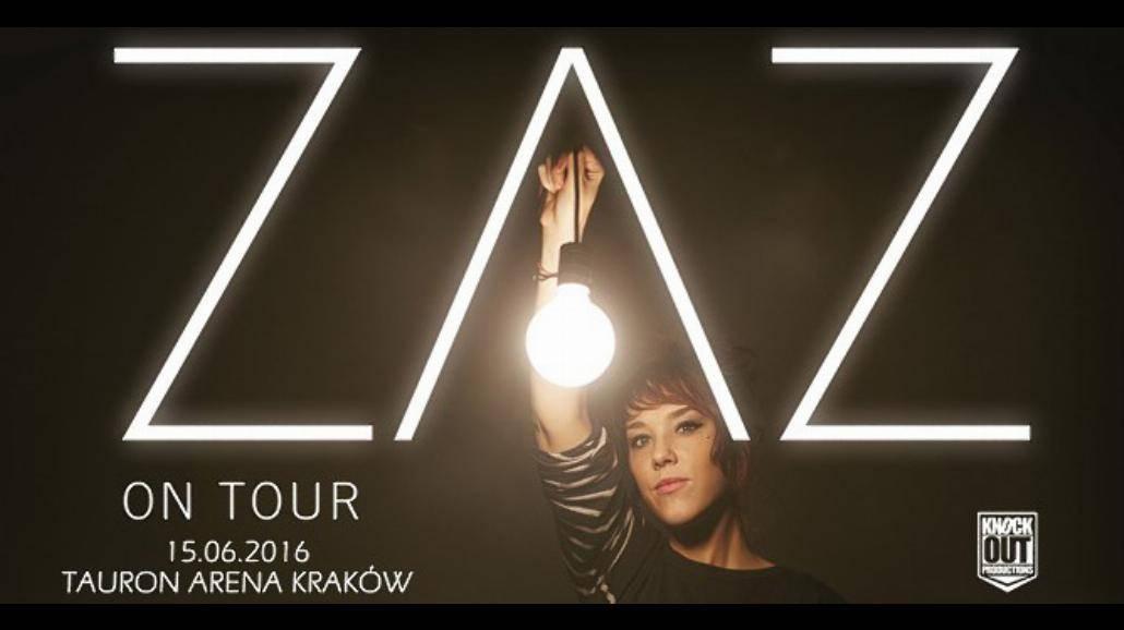 ZAZ - najpiękniejszy głos Francji zaśpiewa w Krakowie