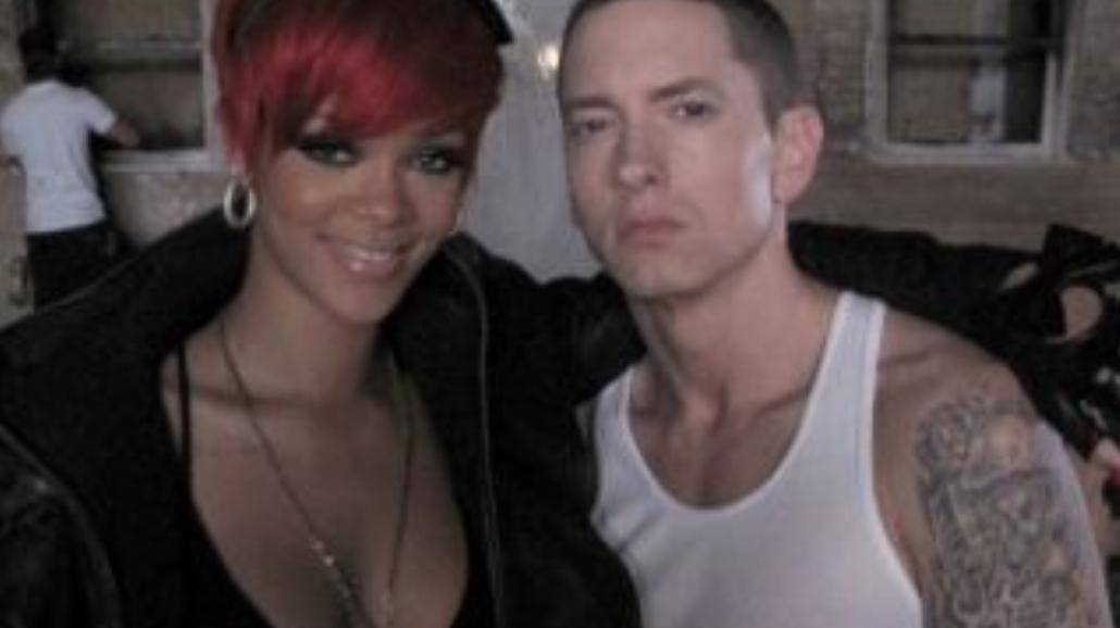 Eminem i Rihanna na MTV Movie Awards 2014