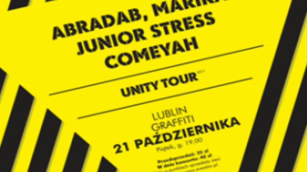 Zmiany na trasie Unity Tour 2011