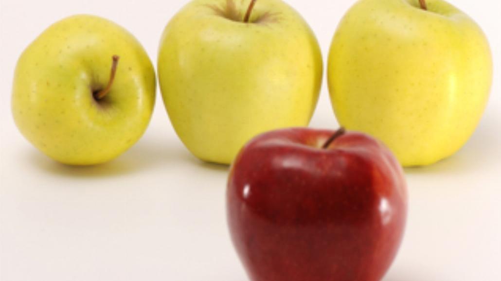 Zapiekane jabłka