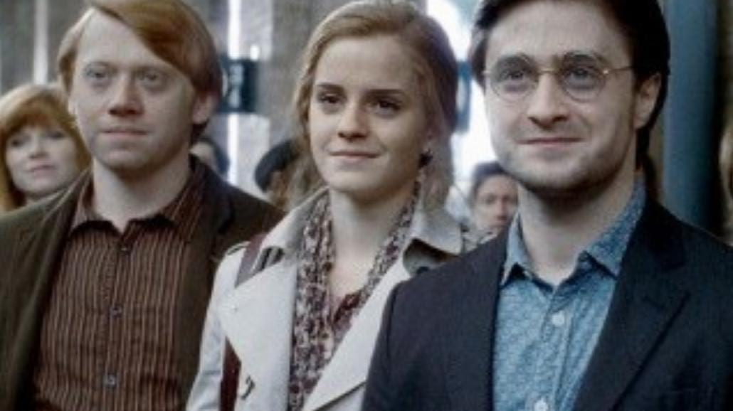 Dorośli Harry Potter, Hermiona i Ron.  J.K. Rowling pisze ciąg dalszy!