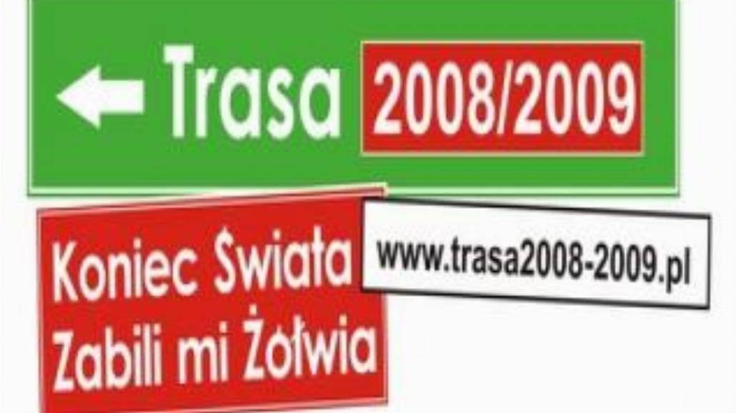 Trasa 2008-2009 w Olsztynie