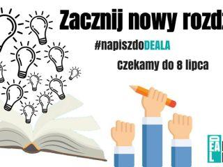 Studencki Magazyn Deal poszukuje redaktorów! - artykuły, feletiony, pisanie, sekcje, edycja