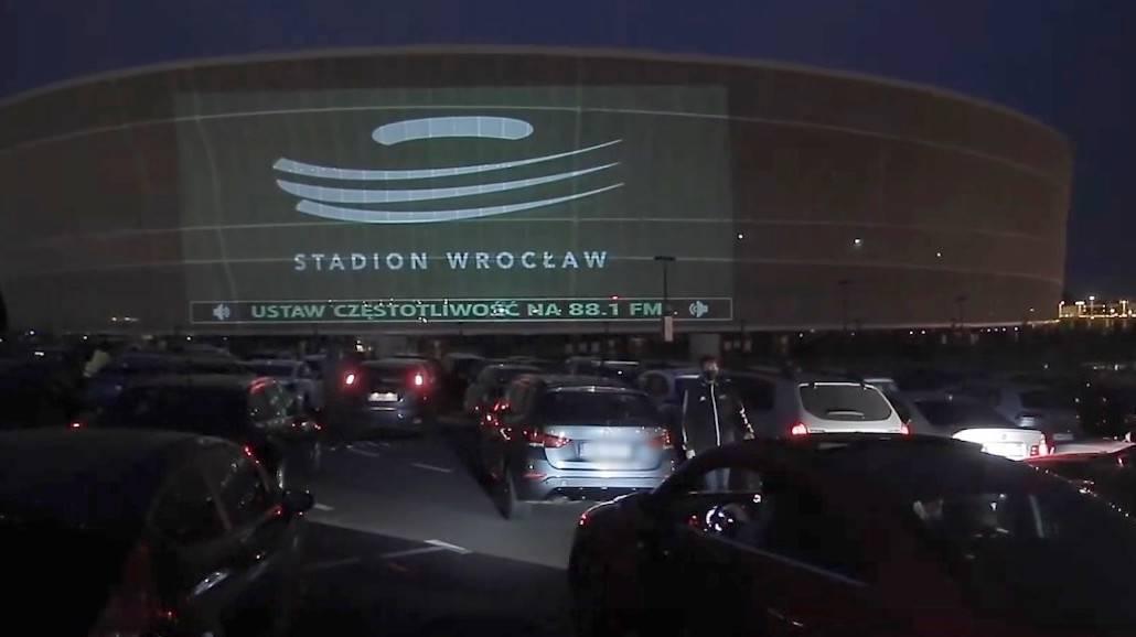 Kino samochodowe Stadion Wrocław