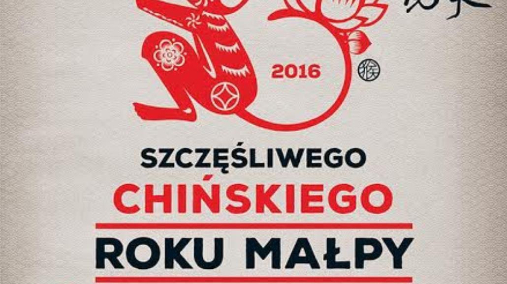 W Krakowie będą świętować chiński Rok Małpy