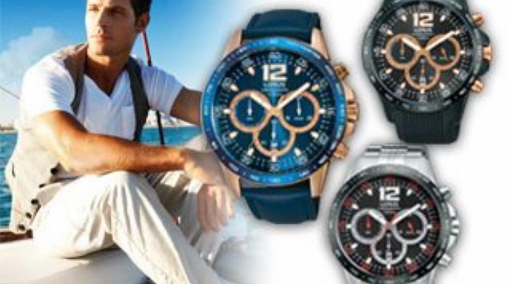 Nowa kolekcja męskich zegarków Lorus