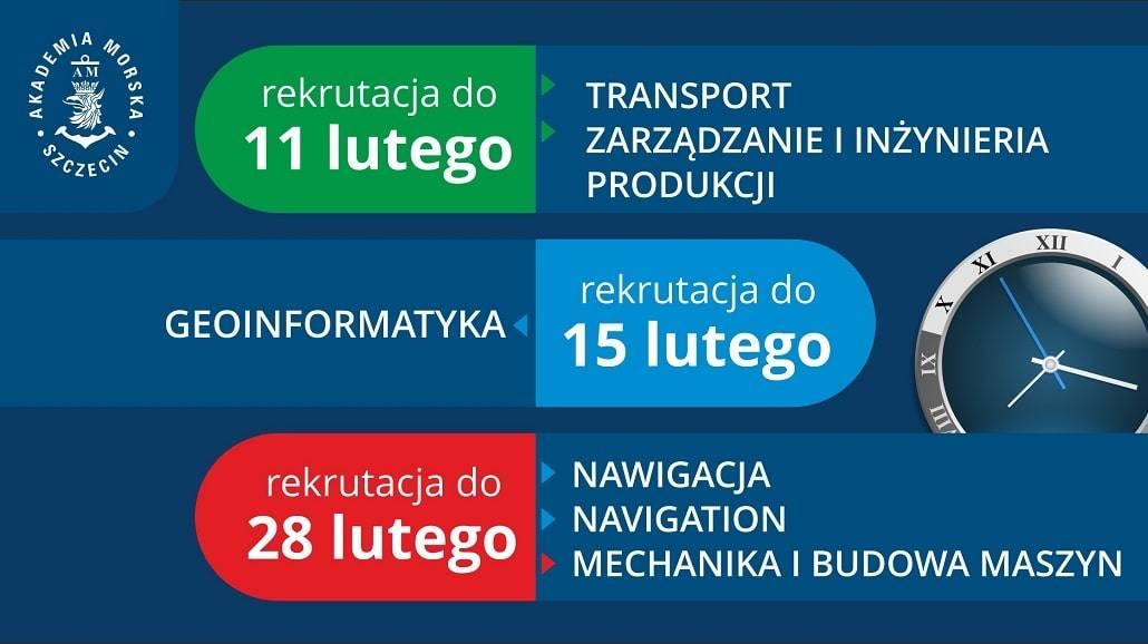 Studia magisterskie w Akademii Morskiej w Szczecinie 2021