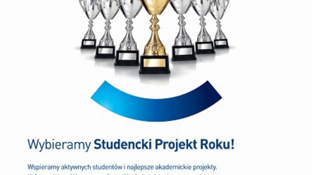 Wybieramy Studencki Projekt Roku! - zgłoszenia do 30 maja