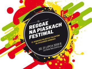 Reggae na Piaskach 2018 startuje już w lipcu - festiwal 2018, letnie festiwale 2018, koncerty, Ostrów Wielkopolski, reggae