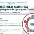 """""""Na rzecz wspólnego interesu - poznaj trzeci sektor"""" - konferencja naukowa na UEK - organizacje pozarządowe, spotkania, prelekcje"""