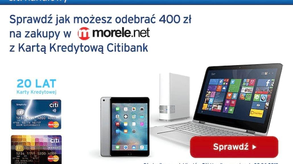 Zdobądź voucher o wartości 400 zł do sklepu Morele.net!