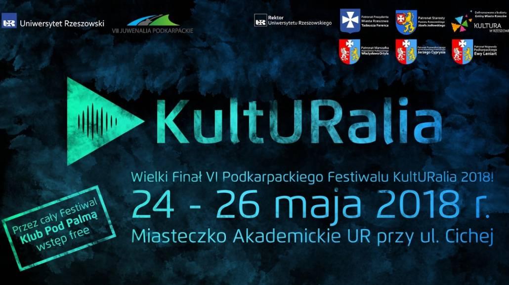 Finał KultURaliÃłw 2018 odbędzie się w dniach 24-26 maja.