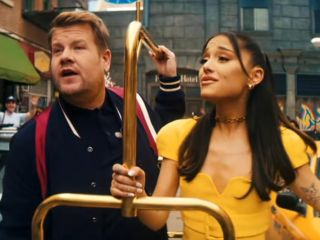"Ariana Grande i James Corden w zabawnej piosence ""No Lockdowns Anymore"" [WIDEO] - skecz, 2021, pandemia, występ, Good Morning Baltimore"
