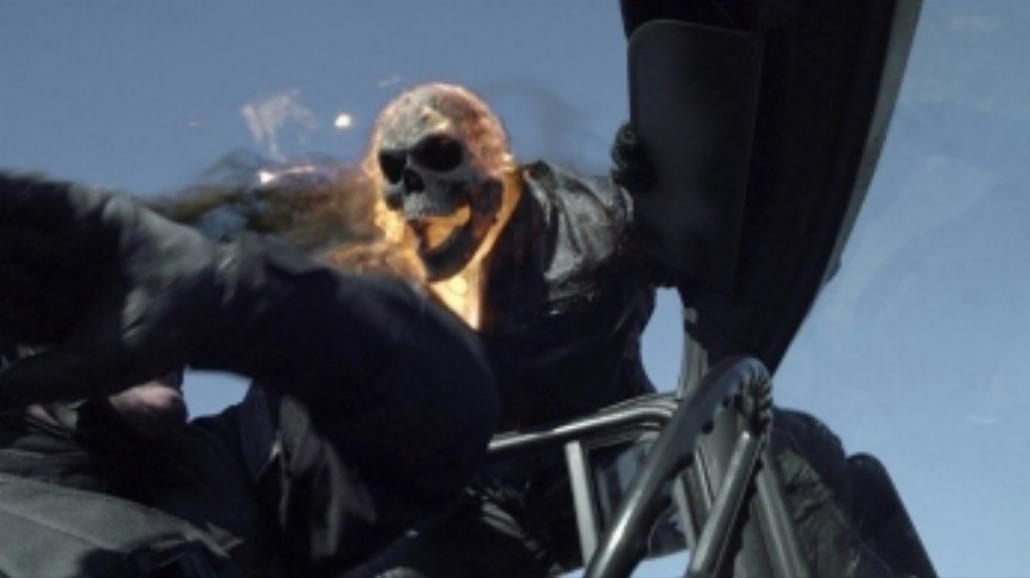 Nicolas Cage jako Ghost Rider [ZWIASTUN]