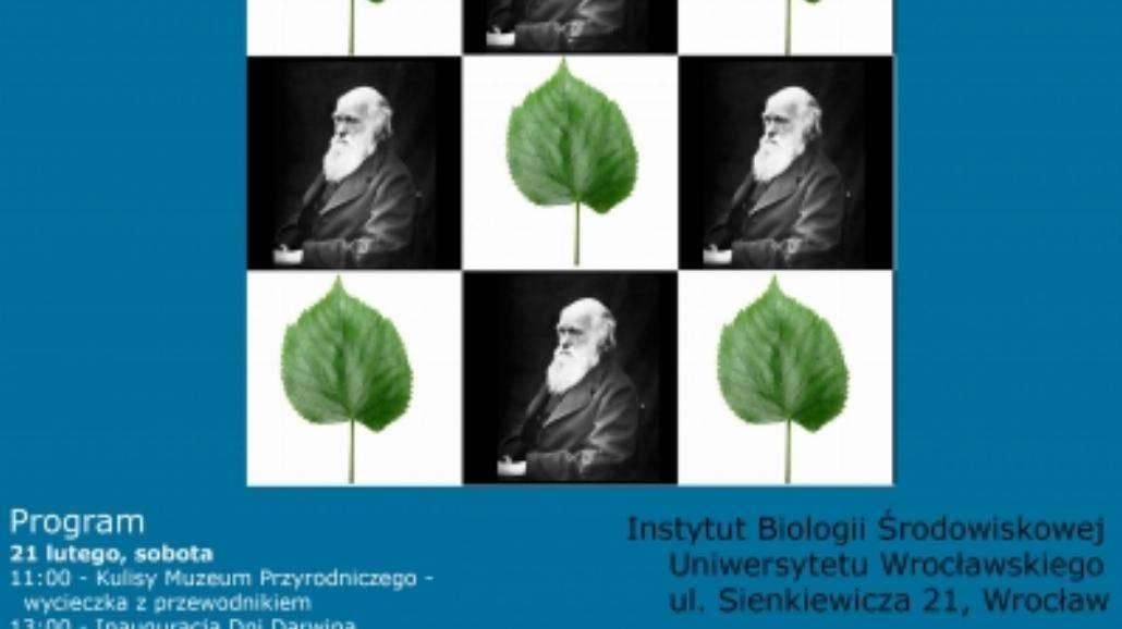Dni Darwina na UWr [PROGRAM]