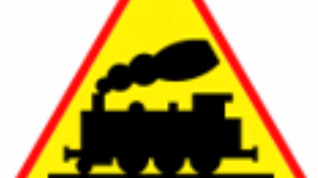 """A-10 """"przejazd kolejowy bez zapór"""""""