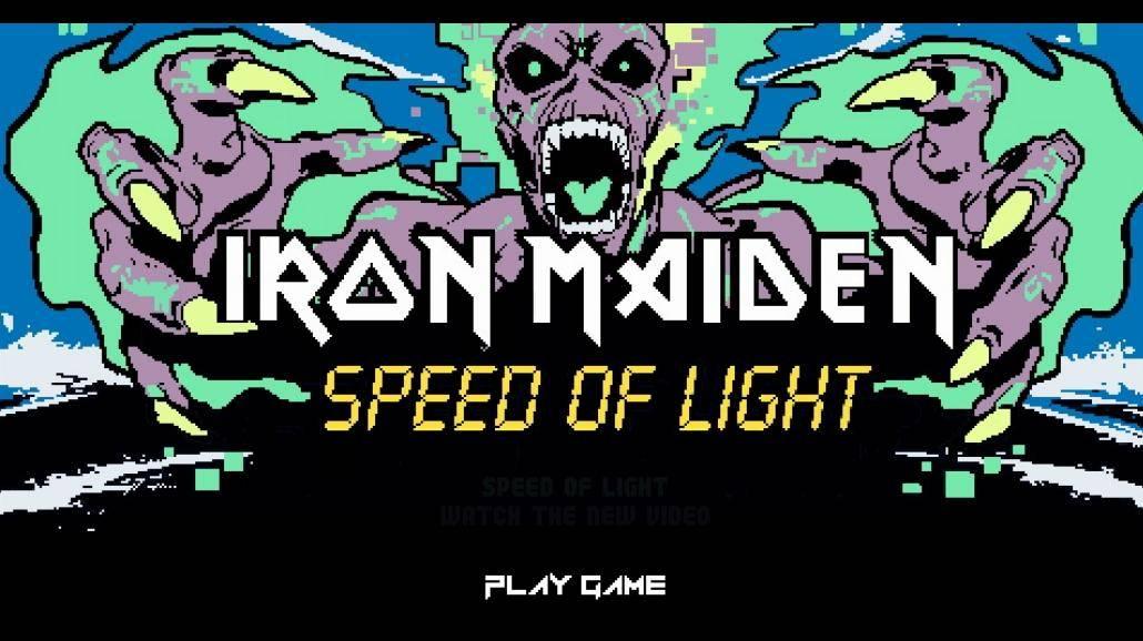 Iron Maiden mają niespodziankę dla fanów. Stworzyli grę wideo!
