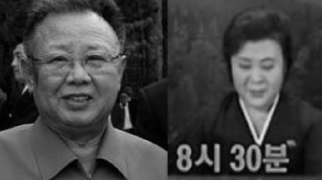 Płacz po śmierci Kim Dzong Ila