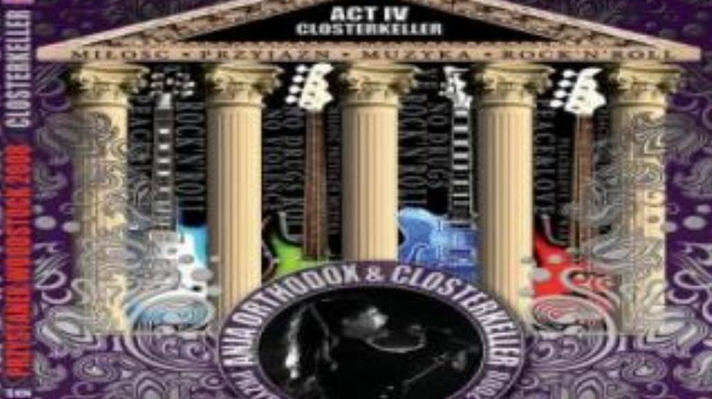 DVD Closterkeller z Przystanku Woodstock