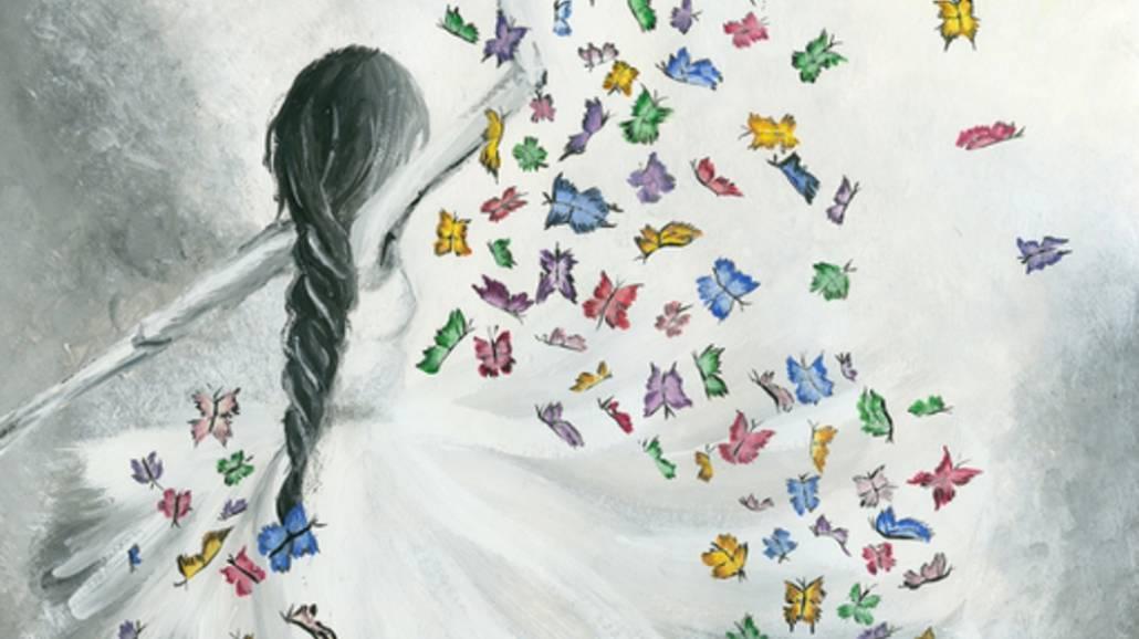 Taniec z motylem - ksiÄ…Åźki o miÅ'oÅ›ci