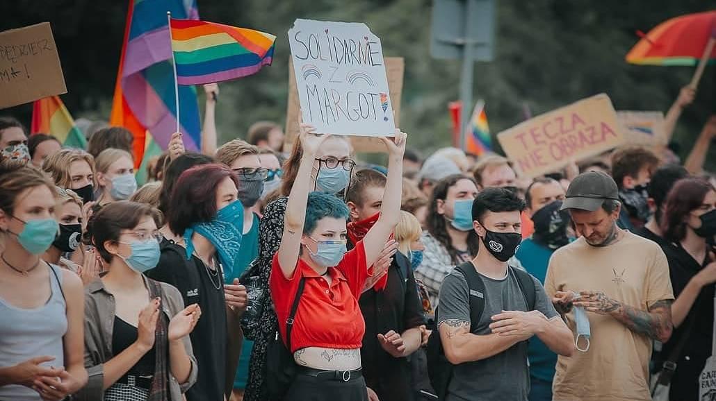 """""""Solidarnie z Margot"""", czyli Wrocławski protest LGBT+ [FOTO]"""