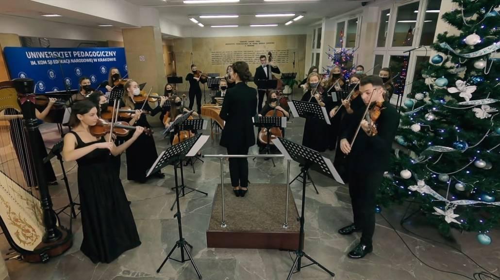 Koncert Kolend 2020 Orkiestra Kameralna Uniwersytetu Pedagogicznego w Krakowie
