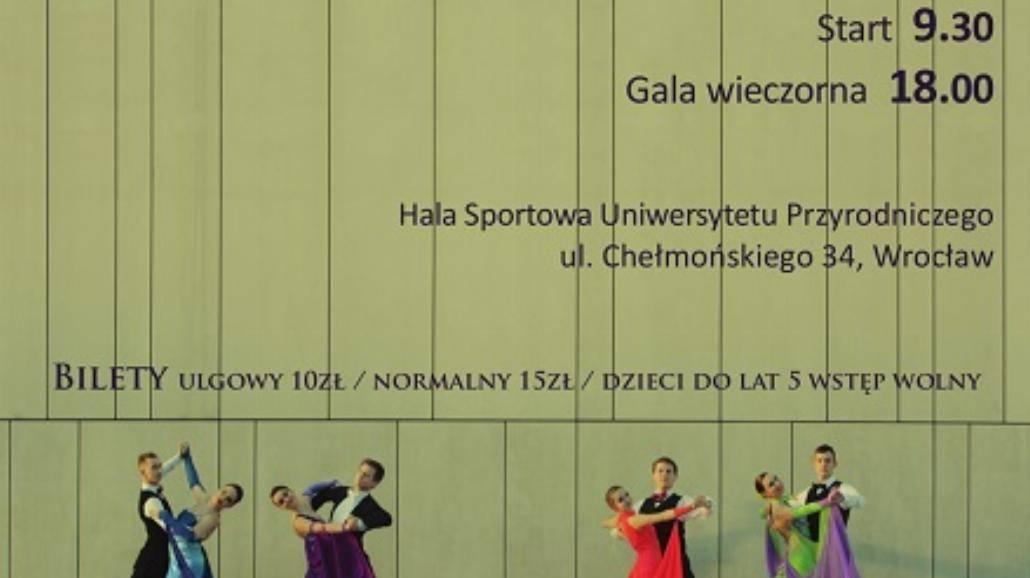 Ogólnopolski Turniej Tańca Towarzyskiego na PWr