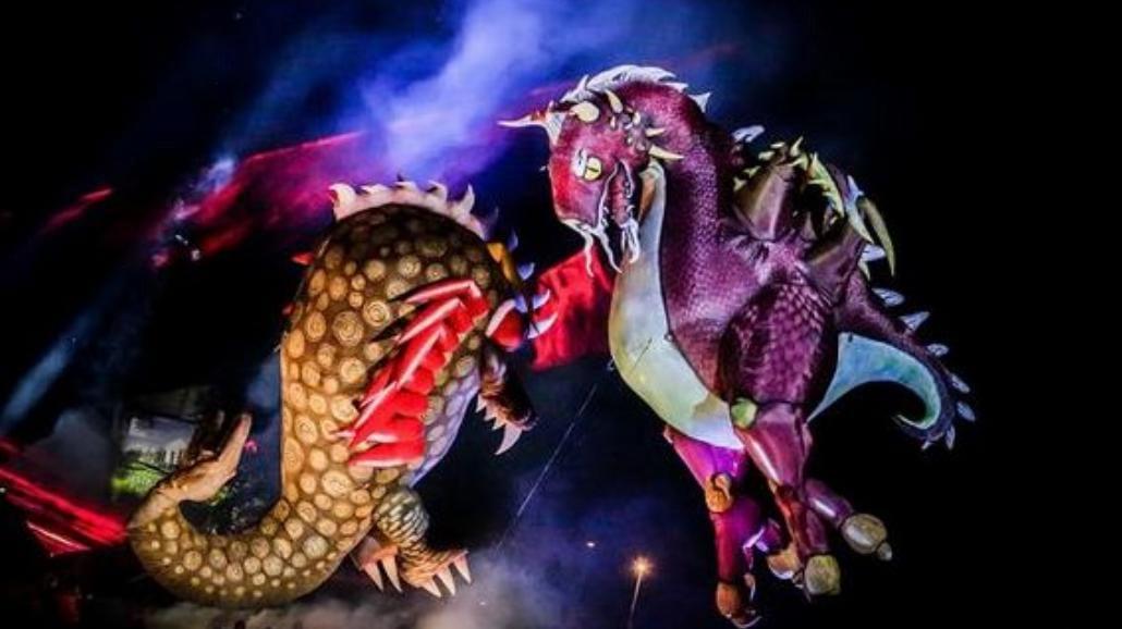 Krakowskie Smocze Święto Teatru Groteska [WIDEO]