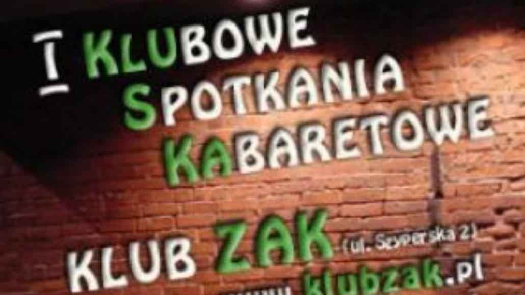 Wieczór kabaretów w ZAK!