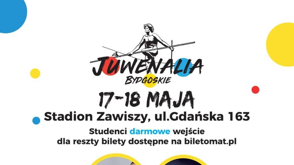 Zobacz, kto zagra podczas JuwenaliÃłw w Bydgoszczy!