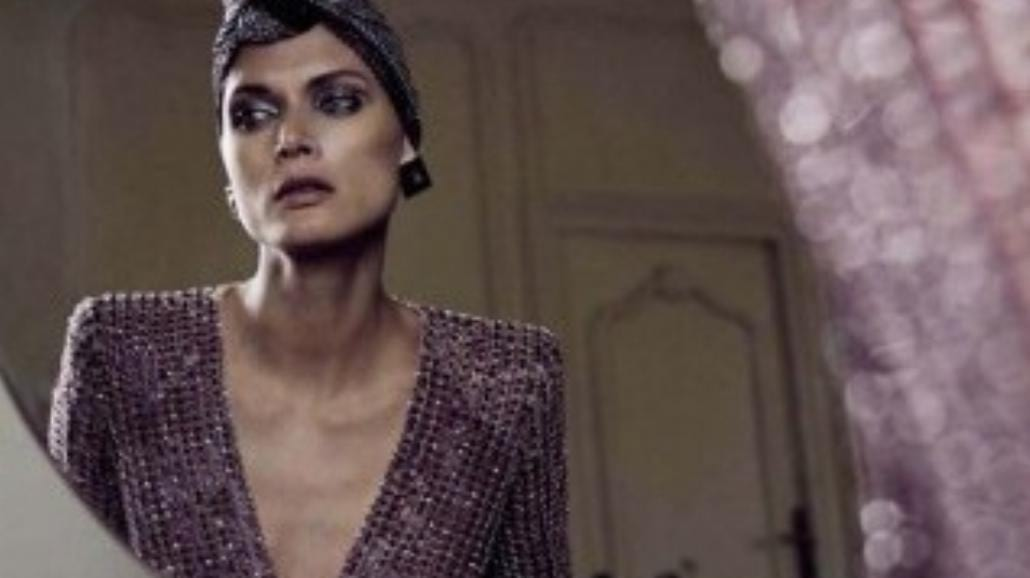 Małgorzata Bela w sesji dla włoskiego Vogue