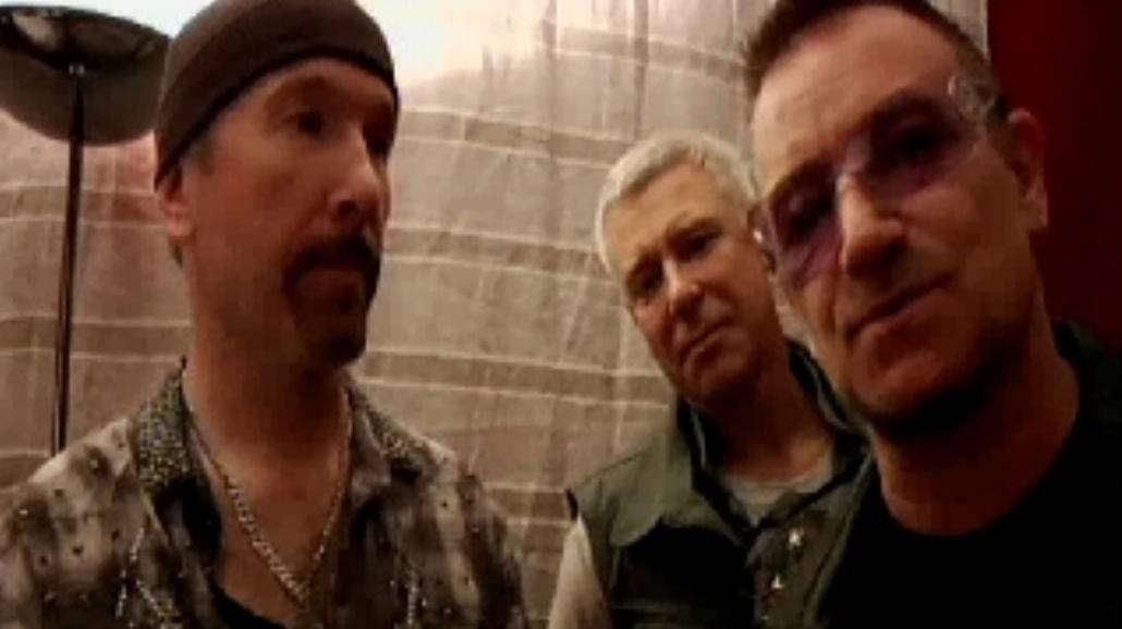 U2 na żywo...na Youtube