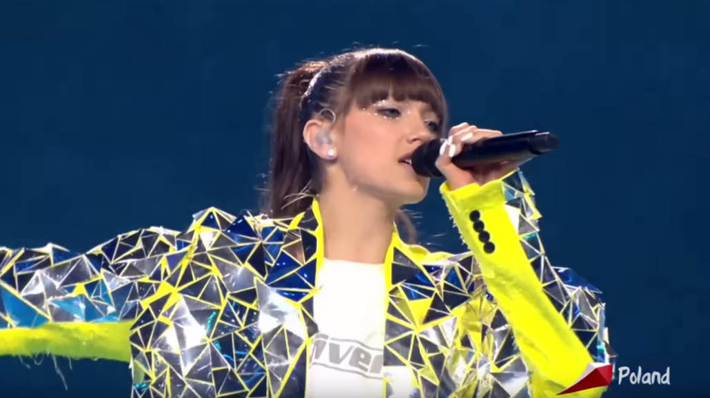 Viki Gabor na Eurowizji Junior