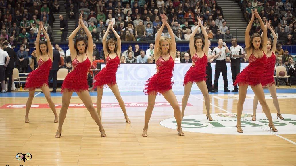 Cheerleaders Wrocław zatańczą w NBA u Marcina Gortata