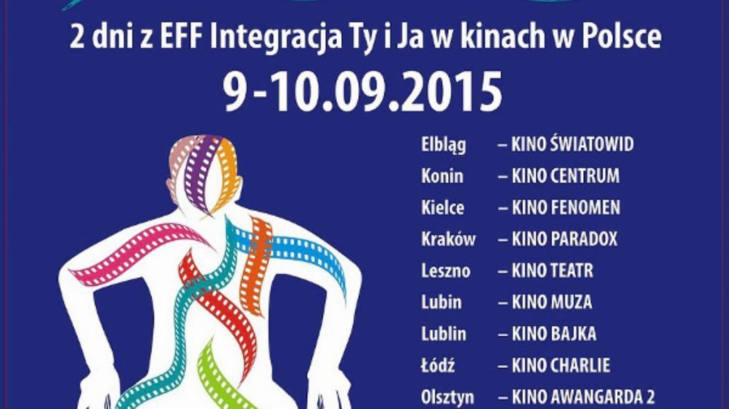 Filmy bez barier na festiwalu Integracja Ty i Ja