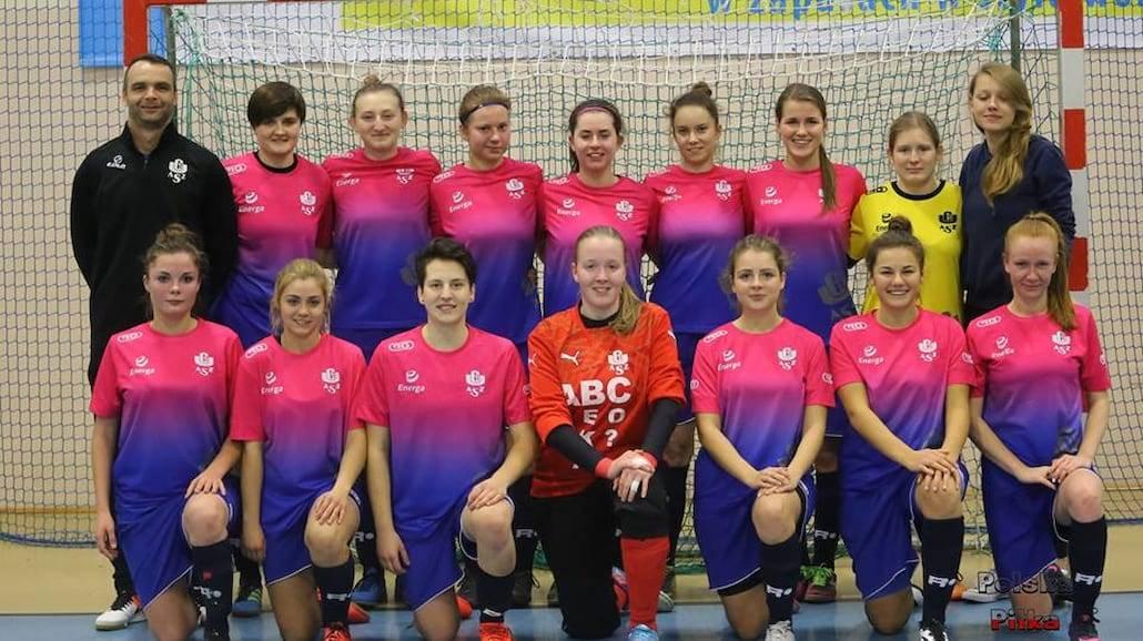 Futsalistki AZS UG awansowały do Ekstraligi