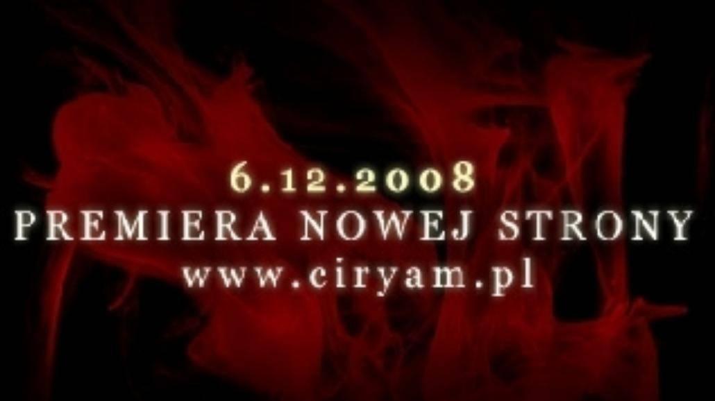 Nowy klip i strona Ciryam