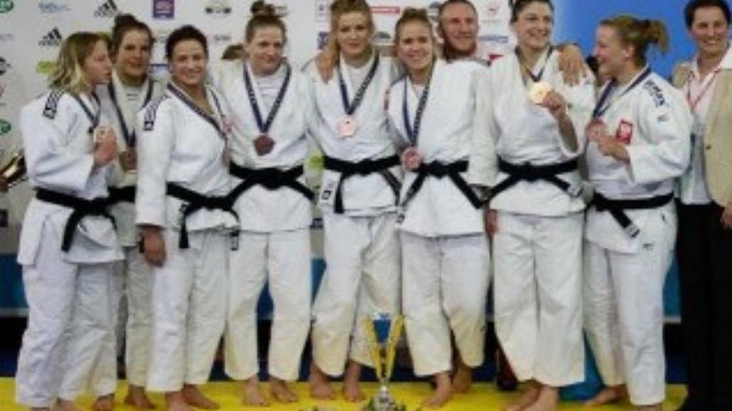 Gdańskie Judoczki z medalami Mistrzostw Europy