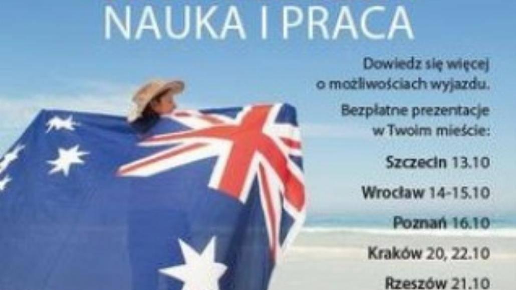 Studiuj i pracuj w Australii!