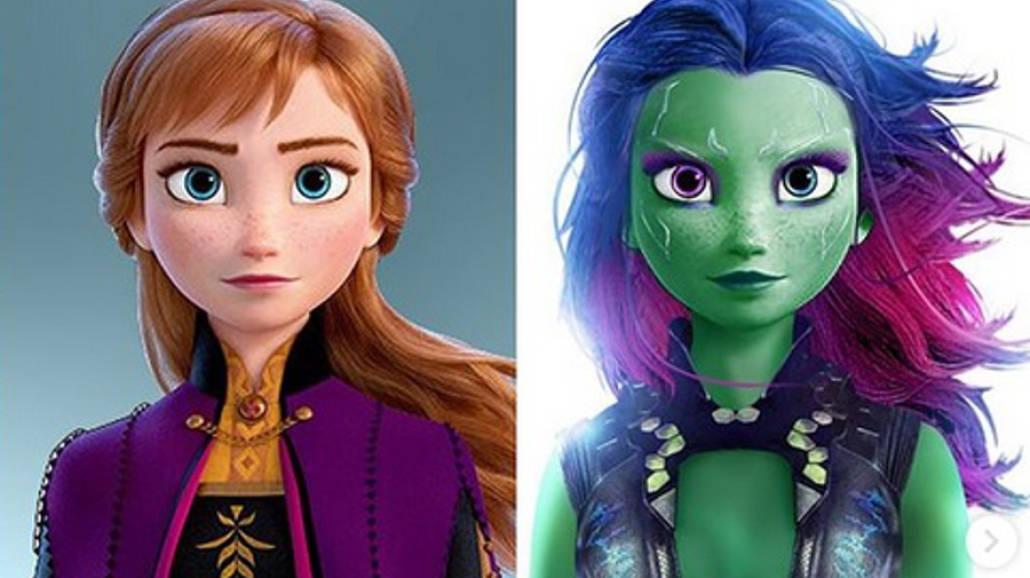 Alternatywne postacie Disney Marvel