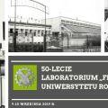 Laboratorim Fitotron Uniwersytetu Rolniczego w Krakowie ma 50 lat! - Rocznica, data powstania, Założenie Placówka, UR im. Hugo Kołątaja, Konferencja