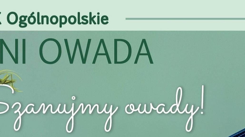 plakat - XIX OgÃłlnopolskie Dni Owada