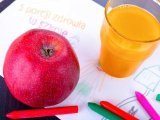 """""""5 porcji zdrowia w szkole"""" - nowy program edukacyjny dla szkół - 5 porcji zdrowia w szkole, program edukacyjny, szkoła podstawowa"""
