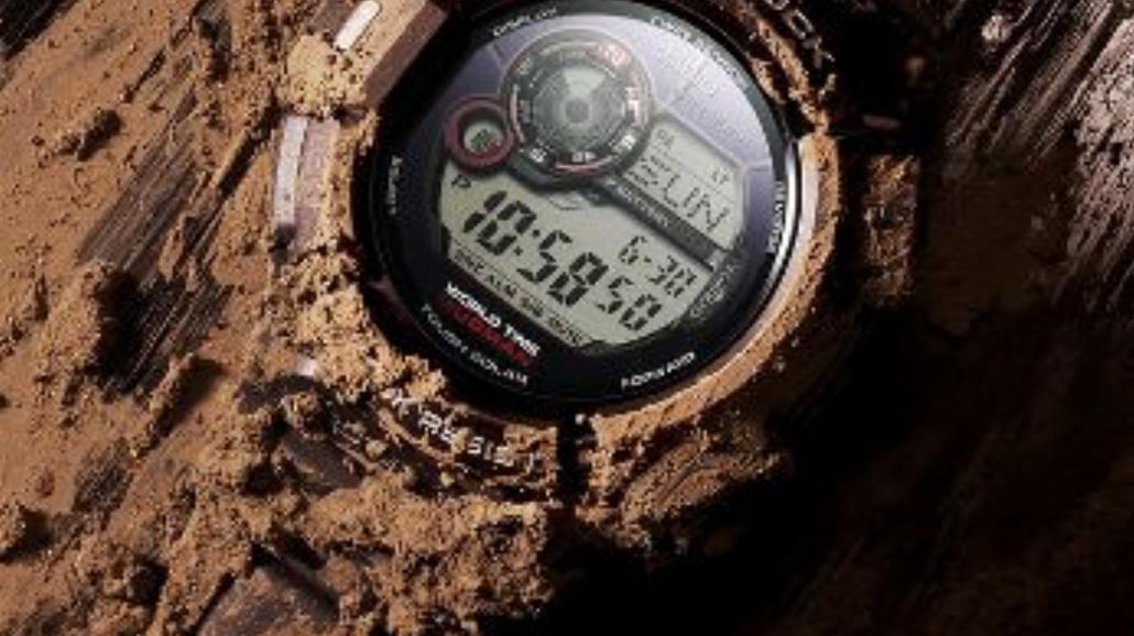 Zegarek odporny na wstrząsy, kurz, brud i błoto