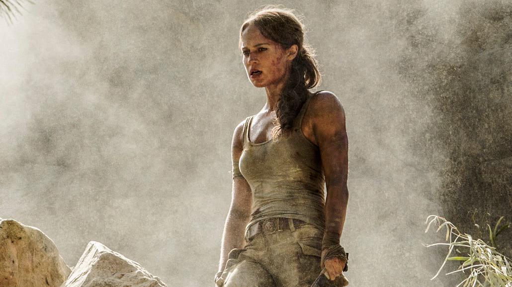 """Alicia Vikander na pierwszym zdjęciu z """"Tomb Raidera""""!"""
