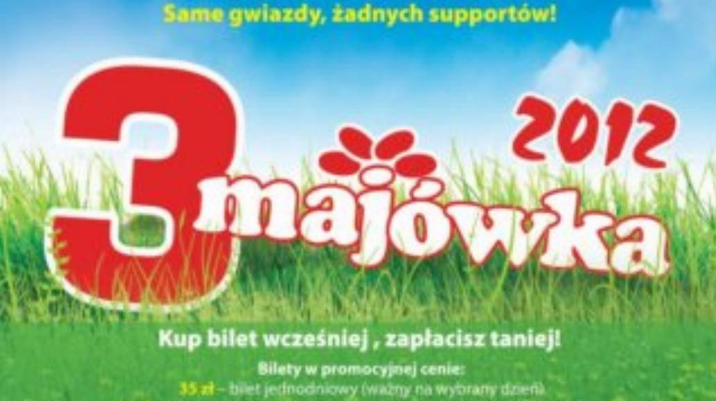 3-Majówka 2012: znamy już 15 wykonawców!