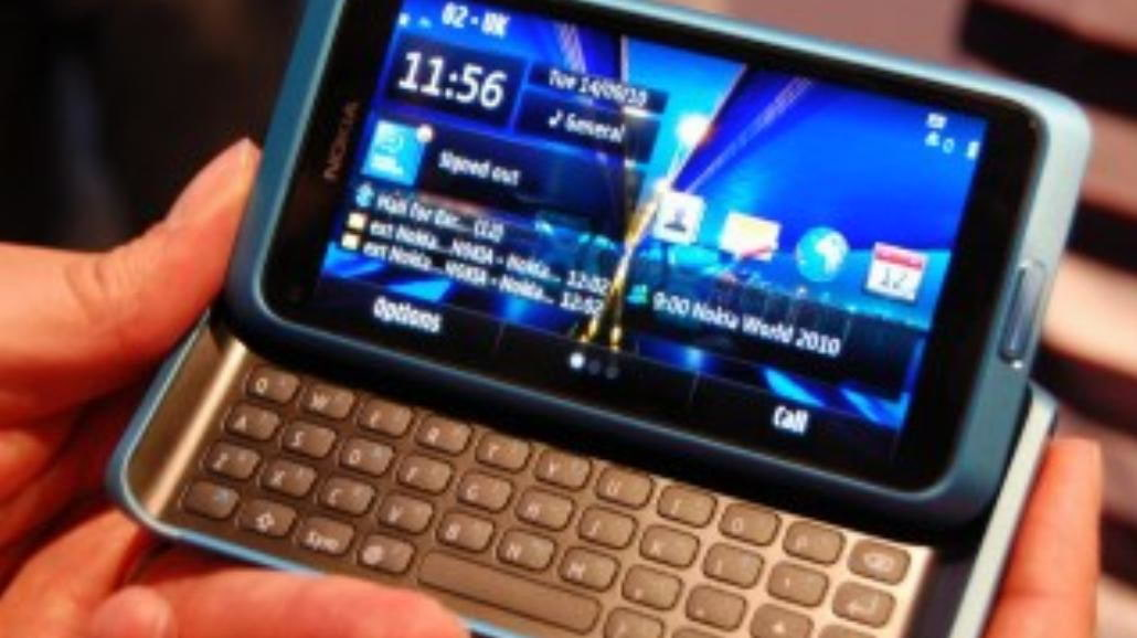 Nokia E7 - test telefonu