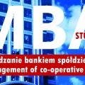 Na Uniwersytecie Rolniczym ruszają studia MBA - inauguracja, menedżer banku, stanowisko kierownize, program
