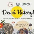 Dzień Historyka 2020 na UMCS - informacje o warsztatach i wykładach - Program, Opis, Warsztaty, Godziny, Miejsce, Lublin, Historia, XI edycja